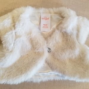 Cat & Jack Shirts & Tops - Cat & Jack faux fur wrap